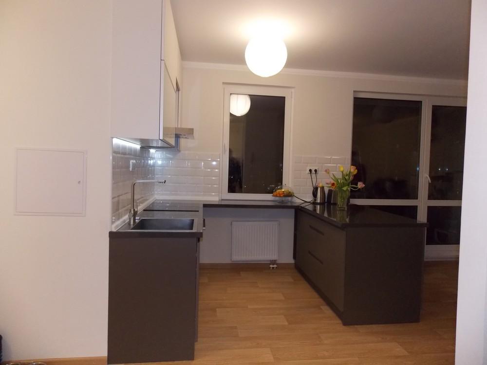 Акриловые кухни-Кухня МДФ в эмали «Модель 182»-фото1