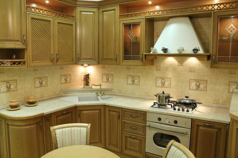 Классические кухни-Кухня из массива «Модель 127»-фото4