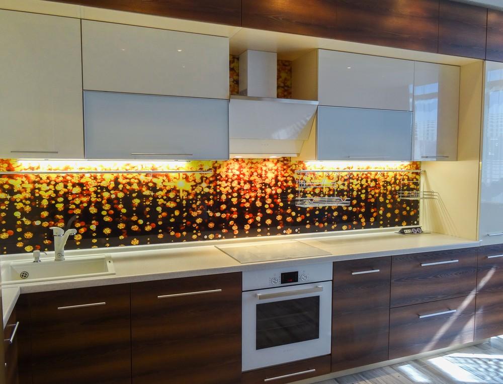 Акриловые кухни-Кухня из акрила «Модель 299»-фото3