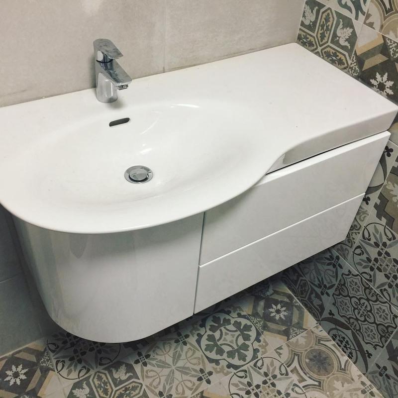 Мебель для ванной комнаты-Мебель для ванной «Модель 34»-фото1