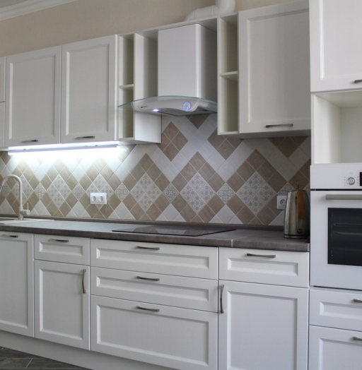 -Кухня МДФ в ПВХ «Модель 294»-фото25