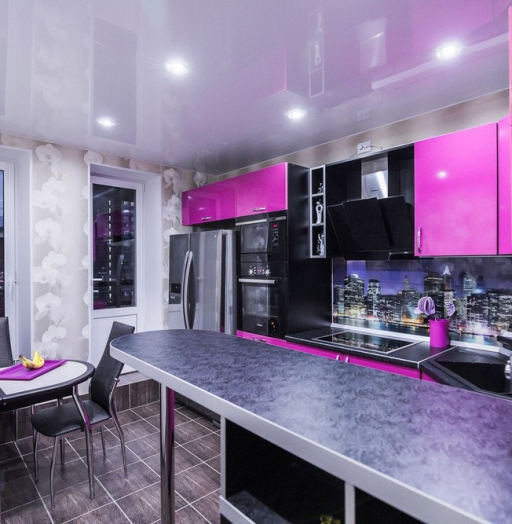 -Кухня МДФ в эмали «Модель 115»-фото19