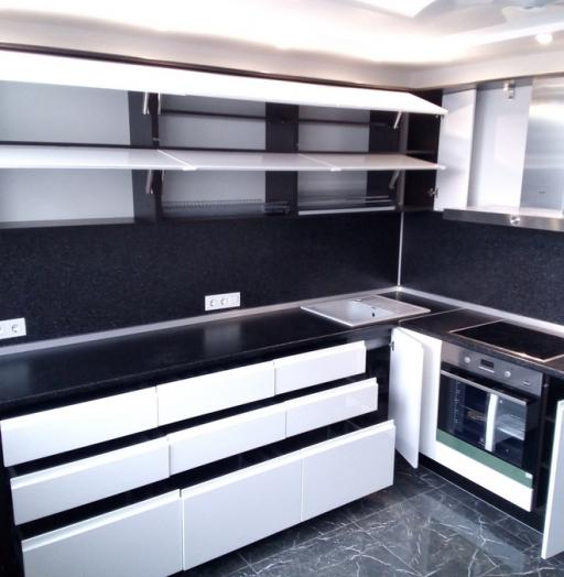 -Кухня МДФ в эмали «Модель 430»-фото11