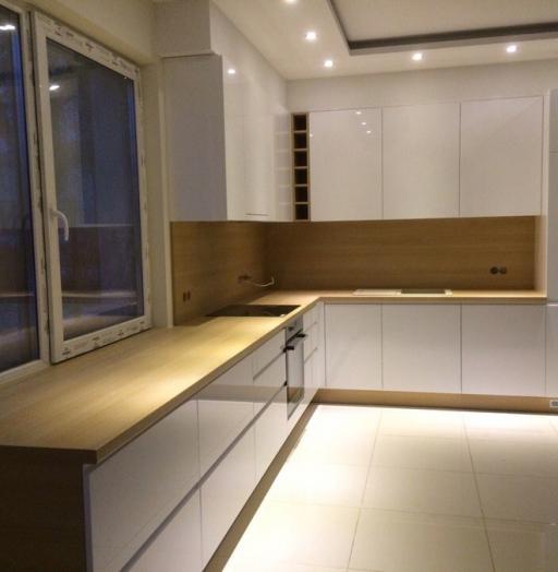 -Кухня МДФ в эмали «Модель 455»-фото15