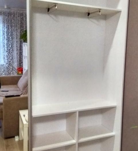 Белые шкафы-купе-Шкаф-купе с зеркалом «Модель 330»-фото4