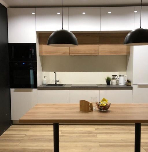 Акриловые кухни-Кухня из акрила «Модель 349»-фото3