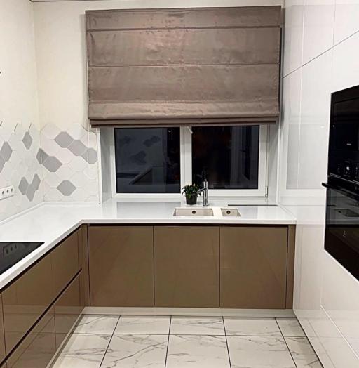 -Кухня МДФ в ПВХ «Модель 60»-фото19