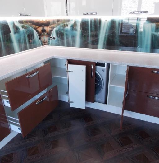 -Кухня из шпона «Модель 14»-фото12
