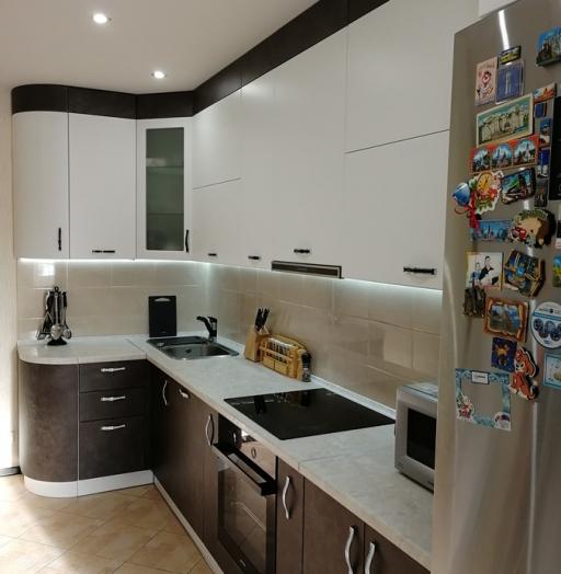 -Кухня МДФ в ПВХ «Модель 27»-фото10