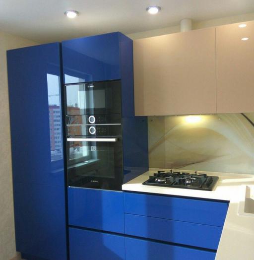 -Кухня МДФ в эмали «Модель 164»-фото29