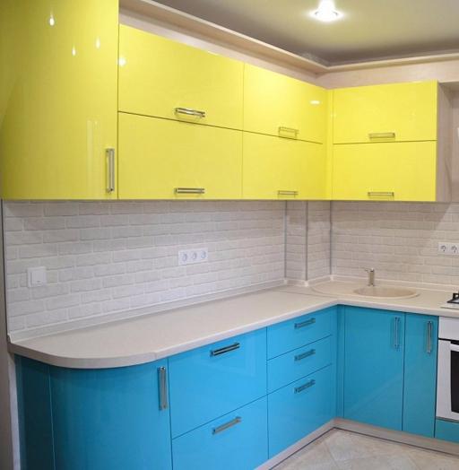 -Кухня МДФ в эмали «Модель 167»-фото30